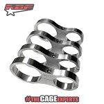 ABF Fabrication Billet Aluminum Reservoir Mounts - 1.75