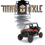 S3 Powersports Titan RZR Turbo Axle