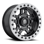 Fuel Anza D917 Beadlock Matte Black w/ Anthracite Ring