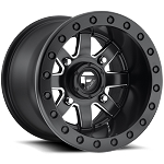 Fuel Maverick - D928 - Beadlock Matte Black & Milled