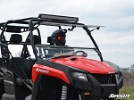 SuperATV Arctic Cat HDX/ Prowler Flip Windshield