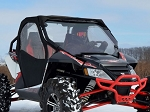 SuperATV Arctic Cat Wildcat Scratch Resistant Full Windshield