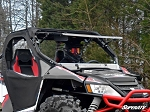 SuperATV Arctic Cat Wildcat Scratch Resistant Flip Windshield