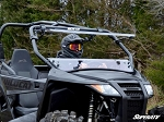 SuperATV Arctic Cat Wildcat Trail Scratch Resistant Flip Windshield