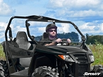 SuperATV Arctic Cat Wildcat Trail Scratch Resistant Full Windshield