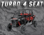 AllthingzUTV RZR Turbo - 4 Seater Tender Spring Swap Kit