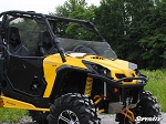 SuperATV Can-Am Commander Half Windshield