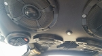 SXS Audio Can-Am X3 complete overhead system with sub setup