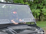 SuperATV Kawasaki Mule Pro FXT Scratch Resistant Vented Full Windshield