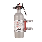 Axia Alloys Quick release fire extinguisher mount w/ 2lb extinguisher