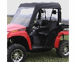 Falcon Ridge Soft Windshield, Top and Rear Window - 2006-11 Arctic Cat Prowler w| Square Bars