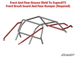 SuperATV Polaris RZR 1000 Weld-In Body Protection Kit