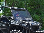 SuperATV Polaris RZR 900 / 1000 Scratch Resistant Vented Windshield