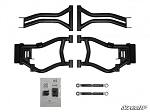 SuperATV Polaris RZR S / RZR 4 Rear High Clearance Rear Offset A-Arms