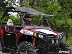 SuperATV Polaris RZR Scratch Resistant Flip Windshield