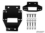 SuperATV Polaris RZR XP 900 Winch Mounting Plate For 3500 Lb. Winches