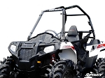 SuperATV Polaris Ace Scratch Resistant Full Windshield