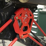 RT Pro RZR XP 900 Rear Lower Gusset Plate