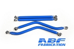 ABF Fabrication Radius Rods - High clearance lowers 4130