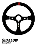 Dragonfire Racing Shallow UTV Steering Wheels