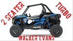 Allthingzutv RZR TURBO 2 SEATER WITH WALKER EVANS