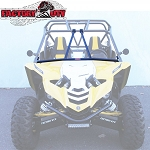 Yamaha YXZ-Bolt-On Roll Cage Enhancement Bundle - Includes: Fron Intrusion Bar + Harness Bar + Cage Extension + Center Support