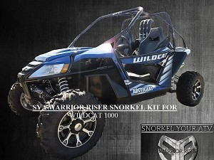 SYA Warrior Riser Snorkel kit for Arctic Cat Wildcat 1000 2012 - early 2013