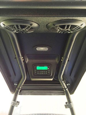 EMP Polaris ACE Overhead Stereo Pod for the 'Cooter Brown' ACE Top