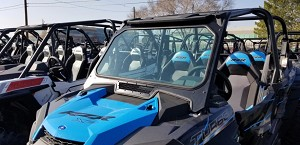 Moto Armor Full Glass Windshield for 2019 Polaris RZR XP1000 and XP Turbo