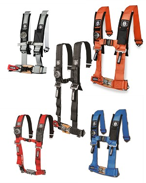 "Pro Armor 4 point 2"" harness W/ sewn in pads"