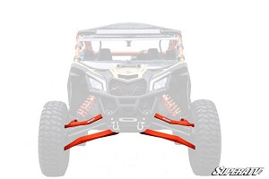SuperATV Can-Am Maverick X3 High Clearance Boxed Front A Arms