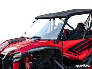 SuperATV Honda Talon 1000 Scratch Resistant Full Windshield